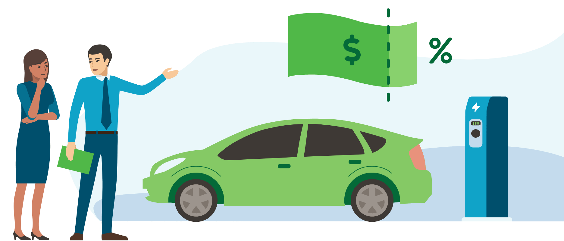 Saving money while buying an electric vehicle