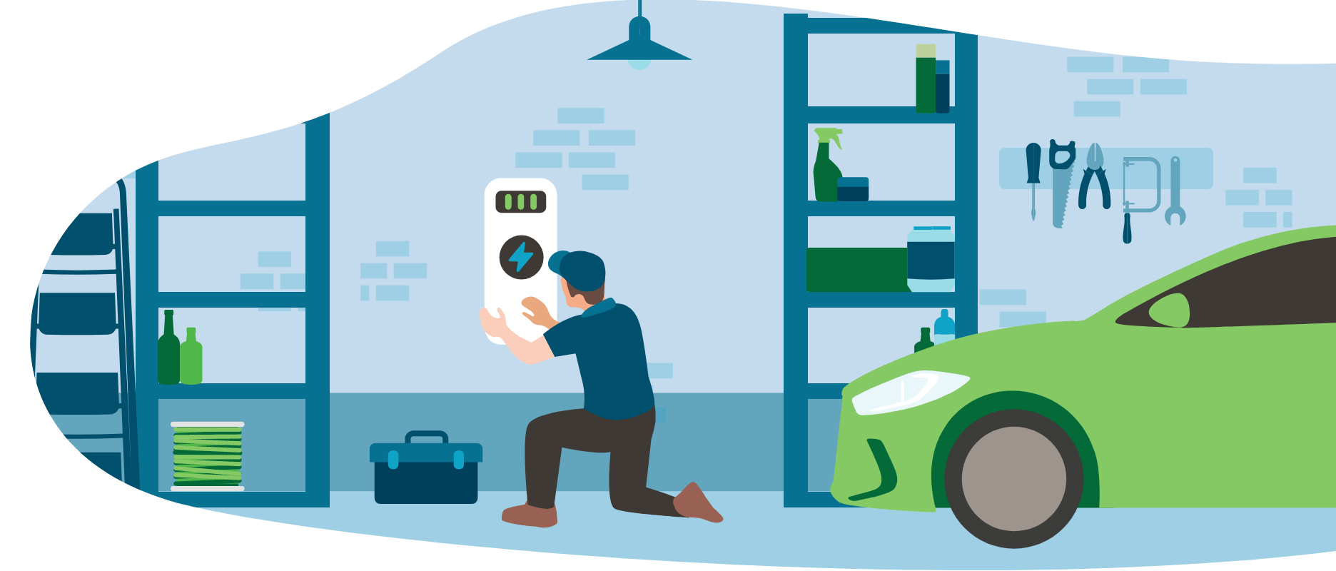 installing an EV charger at home